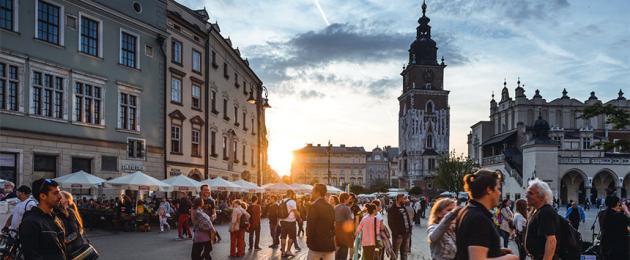 Beč - Krakow - Budimpešta