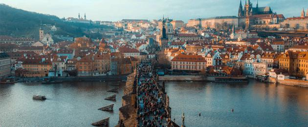 Budimpešta - Prag - Beč