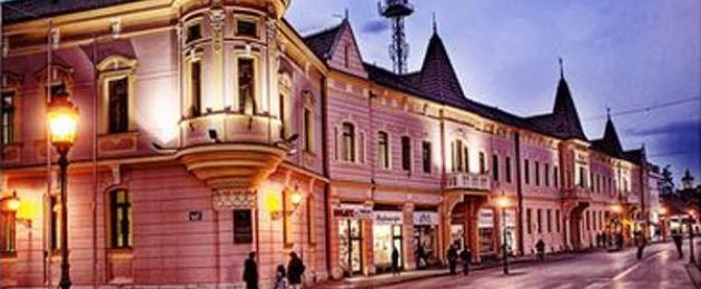 Slavonija - Zagreb